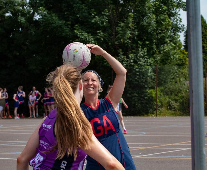 Outdoor netball fun league